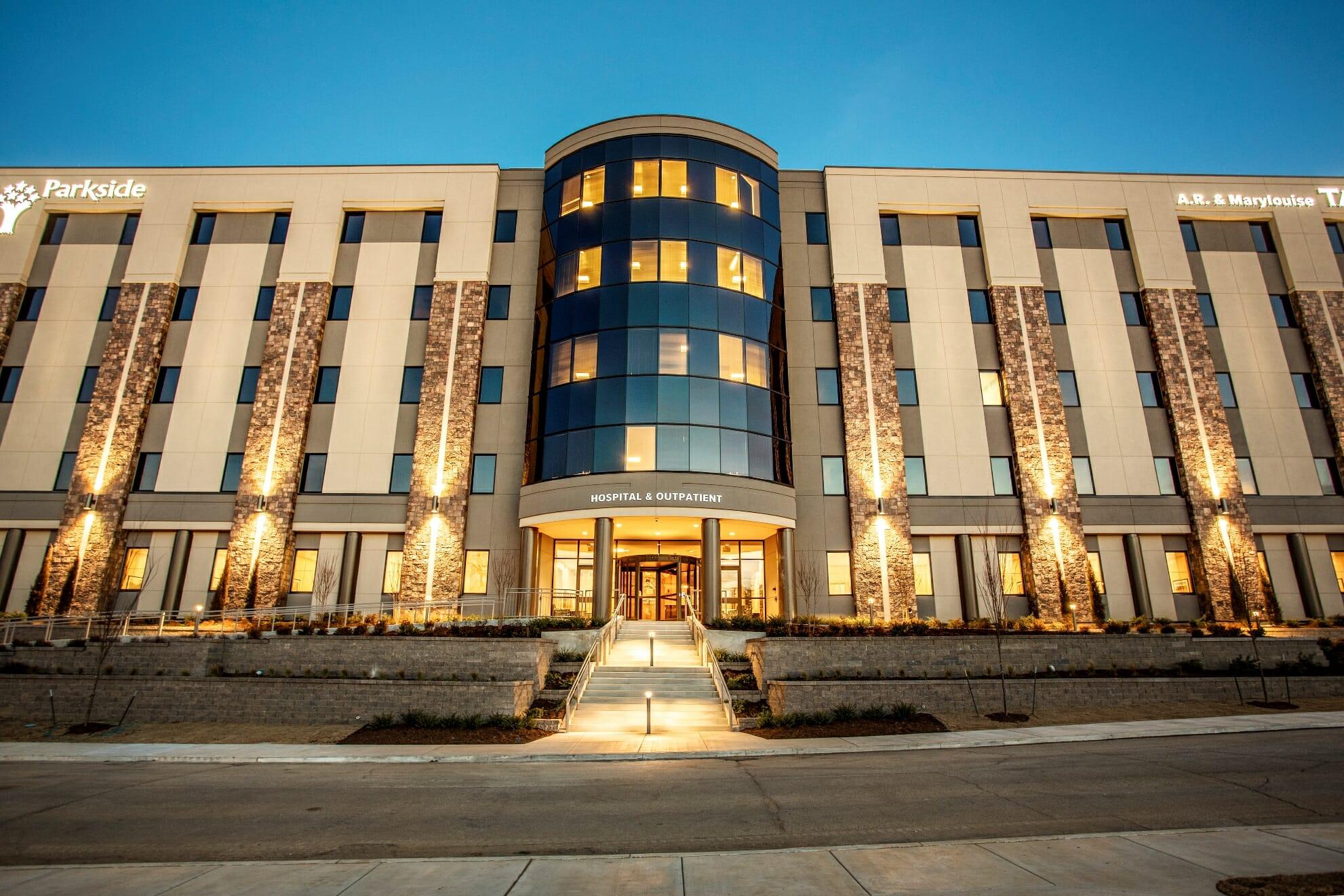 Parkside's future hospital